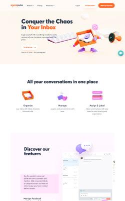 AgoraPulse Website